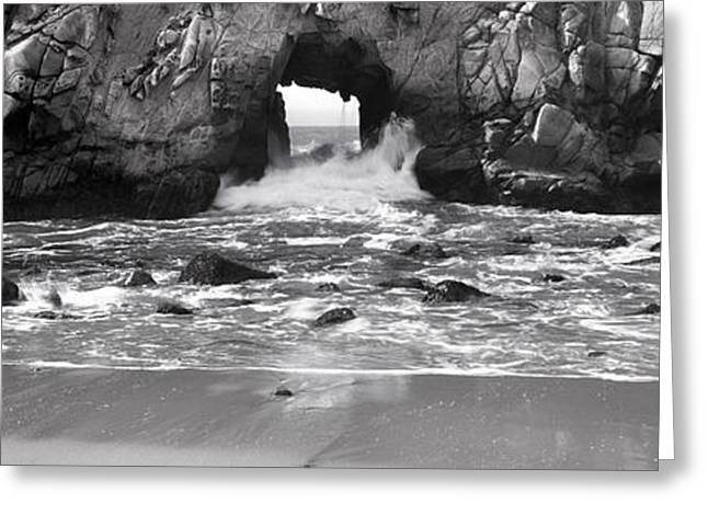 Award Greeting Cards - Hole in the Wall Greeting Card by Jason Denning