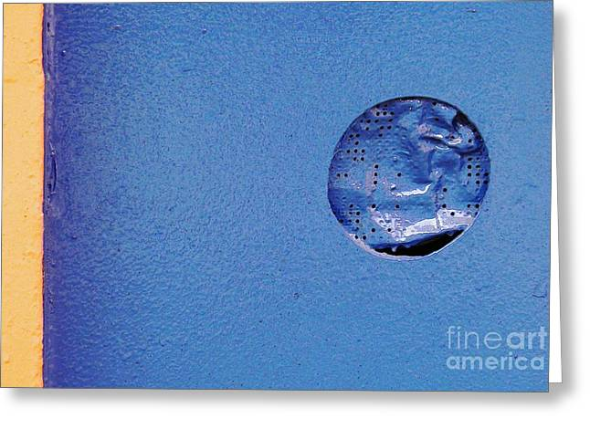 Avant Garde Photograph Greeting Cards - Hole in the Whole Greeting Card by Sarah Loft