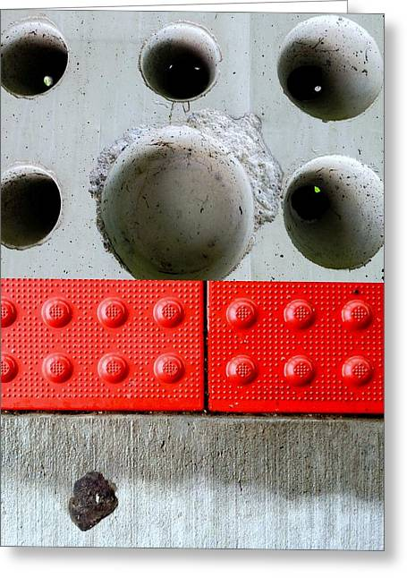 Wholly Greeting Cards - Holey Optical Greeting Card by Marlene Burns