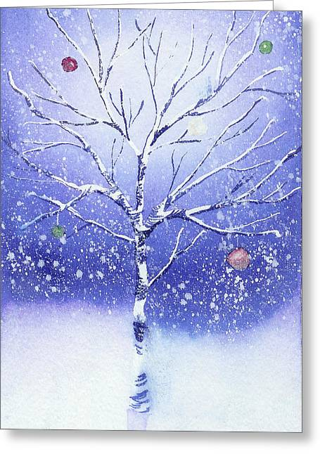 Solstice Greeting Cards - Holiday Card 8 Greeting Card by Nelson Ruger