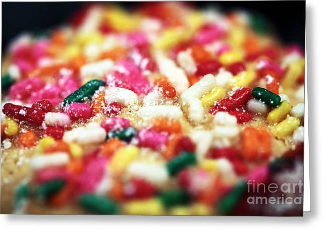 Holiday Cookie Greeting Card by John Rizzuto