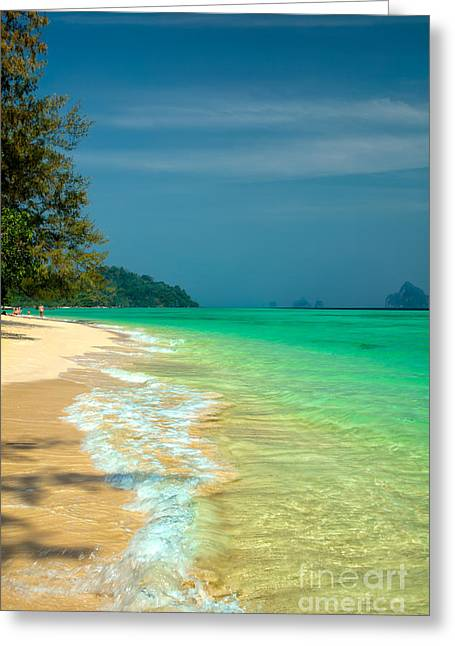 Thai Greeting Cards - Holiday Destination Greeting Card by Adrian Evans