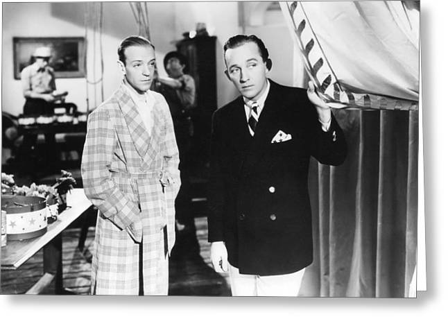 Astaire Greeting Cards - Holiday Inn  Greeting Card by Silver Screen