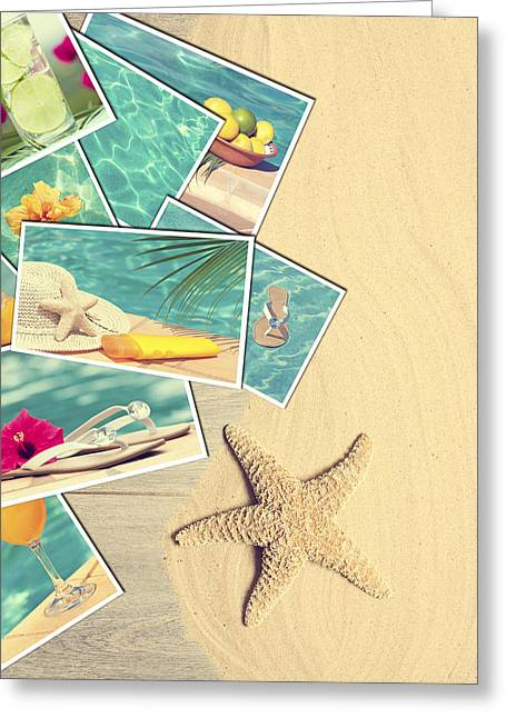 Algarve Greeting Cards - Holiday Postcards Greeting Card by Amanda And Christopher Elwell