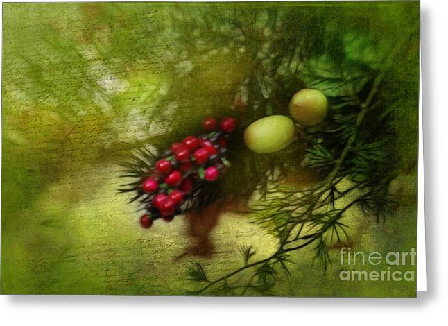 Holiday Season Greeting Card by Judi Bagwell