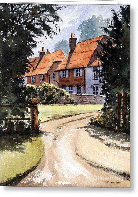 Ancestry Greeting Cards - Holkham Ancestry Angmering Sussex Greeting Card by Bill Holkham