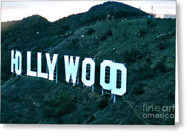 D.w Greeting Cards - Hollywood baby Greeting Card by Micah May