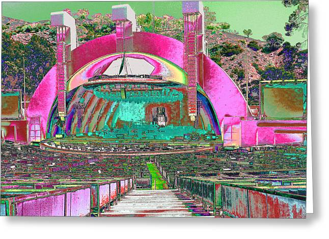 Hollywood Bowl Greeting Cards - Hollywood Bowl Greeting Card by Karol Blumenthal