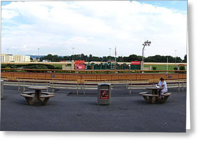 Betting Greeting Cards - Hollywood Casino at Charles Town Races - 121210 Greeting Card by DC Photographer