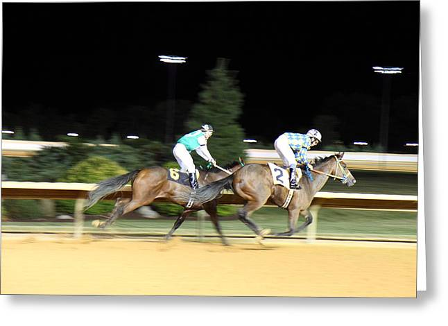 Slots Greeting Cards - Hollywood Casino at Charles Town Races - 121214 Greeting Card by DC Photographer