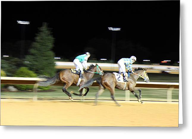 Charles Greeting Cards - Hollywood Casino at Charles Town Races - 121215 Greeting Card by DC Photographer