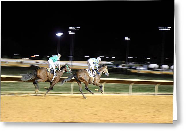 Game Greeting Cards - Hollywood Casino at Charles Town Races - 121217 Greeting Card by DC Photographer