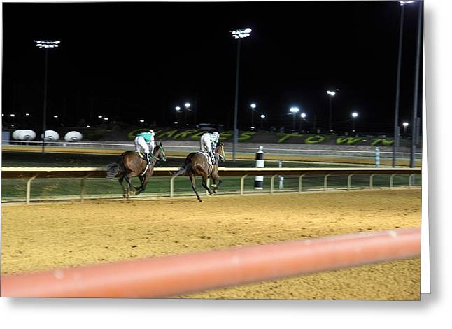 Hollywood Casino At Charles Town Races - 121221 Greeting Card by DC Photographer
