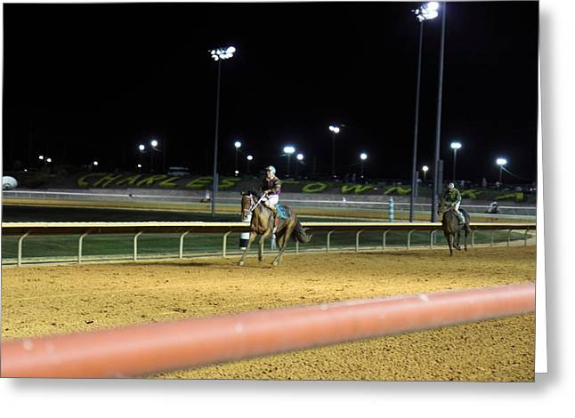 Game Greeting Cards - Hollywood Casino at Charles Town Races - 121222 Greeting Card by DC Photographer
