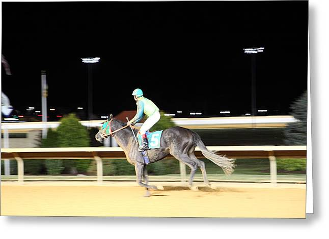 Casino Greeting Cards - Hollywood Casino at Charles Town Races - 121227 Greeting Card by DC Photographer