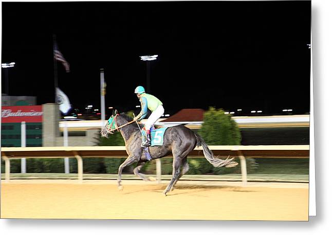 Games Greeting Cards - Hollywood Casino at Charles Town Races - 121228 Greeting Card by DC Photographer