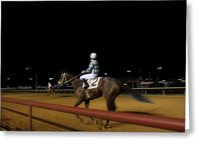 Charles Greeting Cards - Hollywood Casino at Charles Town Races - 121230 Greeting Card by DC Photographer