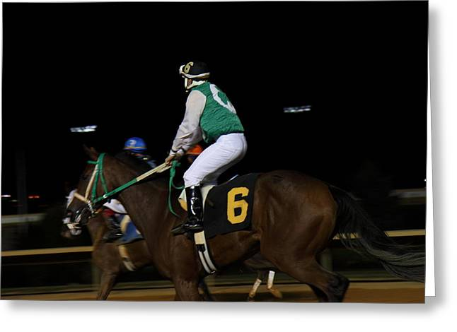 Gambling Greeting Cards - Hollywood Casino at Charles Town Races - 121231 Greeting Card by DC Photographer