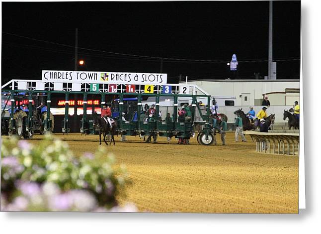 Charles Greeting Cards - Hollywood Casino at Charles Town Races - 121236 Greeting Card by DC Photographer