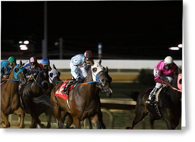Game Greeting Cards - Hollywood Casino at Charles Town Races - 121241 Greeting Card by DC Photographer