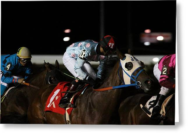 Hollywood Photographs Greeting Cards - Hollywood Casino at Charles Town Races - 121242 Greeting Card by DC Photographer