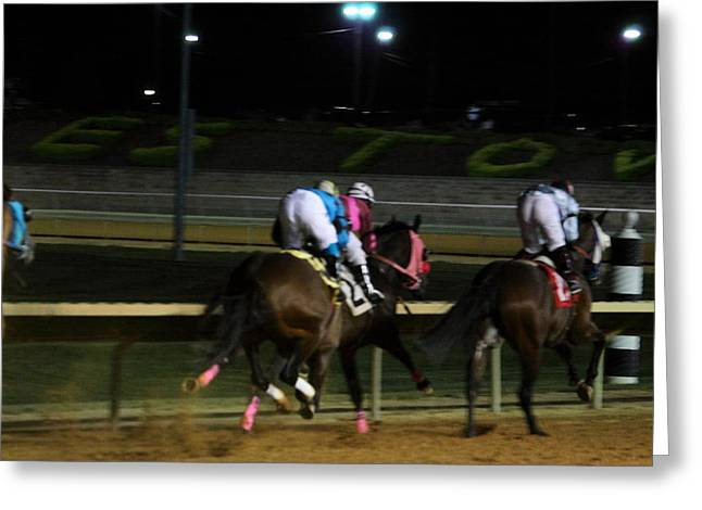 Betting Greeting Cards - Hollywood Casino at Charles Town Races - 121248 Greeting Card by DC Photographer