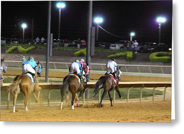 Charles Greeting Cards - Hollywood Casino at Charles Town Races - 121250 Greeting Card by DC Photographer