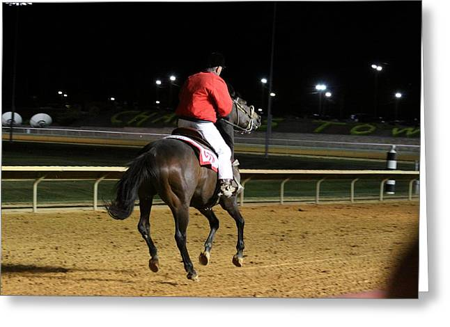Game Greeting Cards - Hollywood Casino at Charles Town Races - 121253 Greeting Card by DC Photographer