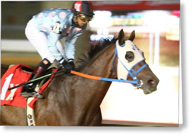 Charles Greeting Cards - Hollywood Casino at Charles Town Races - 121264 Greeting Card by DC Photographer