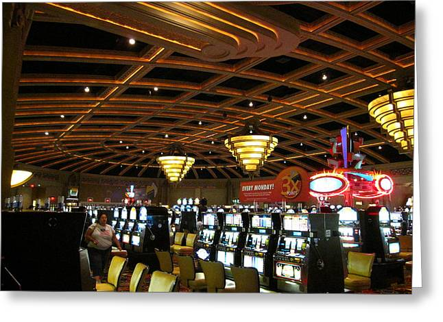 Game Greeting Cards - Hollywood Casino at Charles Town Races - 12127 Greeting Card by DC Photographer