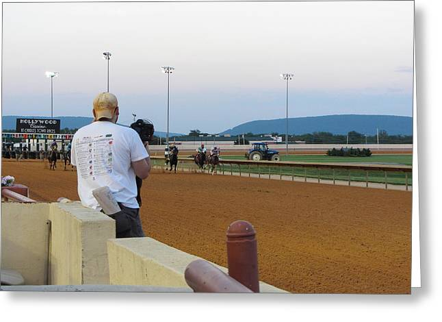 Town Photographs Greeting Cards - Hollywood Casino at Charles Town Races - 12128 Greeting Card by DC Photographer