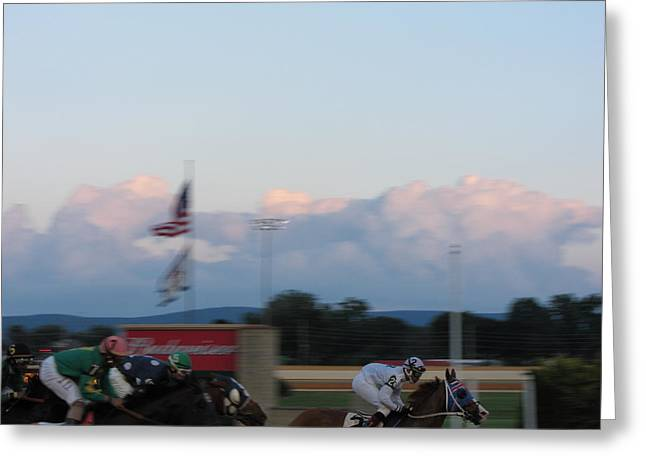 Town Photographs Greeting Cards - Hollywood Casino at Charles Town Races - 12129 Greeting Card by DC Photographer