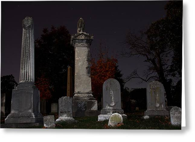 Confederate Monument Greeting Cards - Hollywood Cemetery Greeting Card by Jemmy Archer