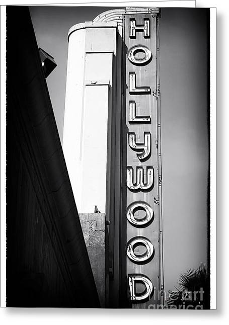California Contemporary Gallery Greeting Cards - Hollywood History Greeting Card by John Rizzuto
