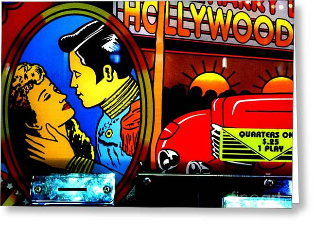 Hollywood Greeting Card by Newel Hunter