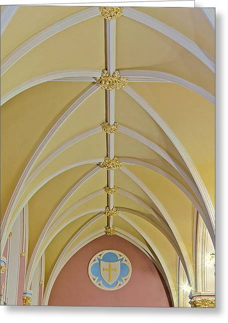 Holy Arches Greeting Card by Susan Candelario