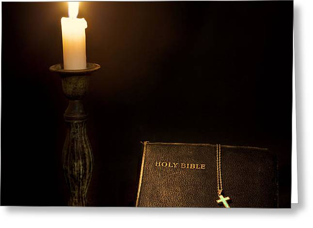 Holy Bible Greeting Card by Bill  Wakeley
