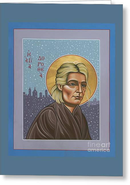 Holy Prophet Dorothy Day 154 Greeting Card by William Hart McNichols