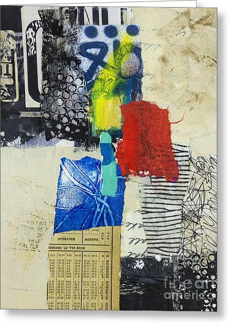 Geometric Art Greeting Cards - Holyhead Greeting Card by Elena Nosyreva