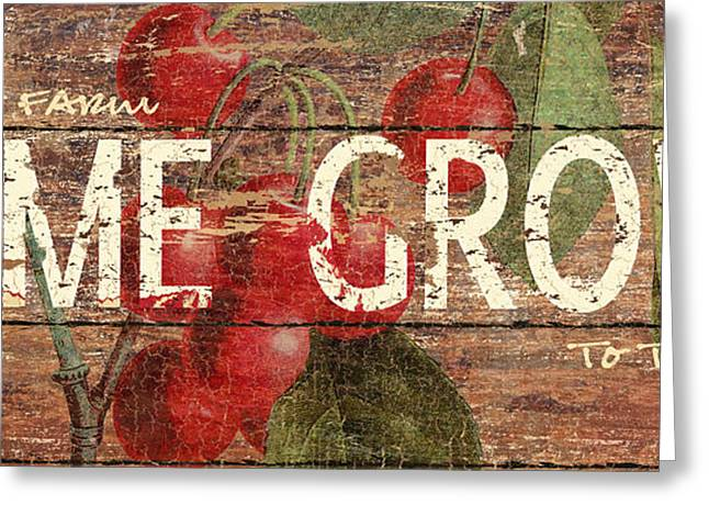 Home Grown Greeting Cards - Home Grown Greeting Card by Marilu Windvand