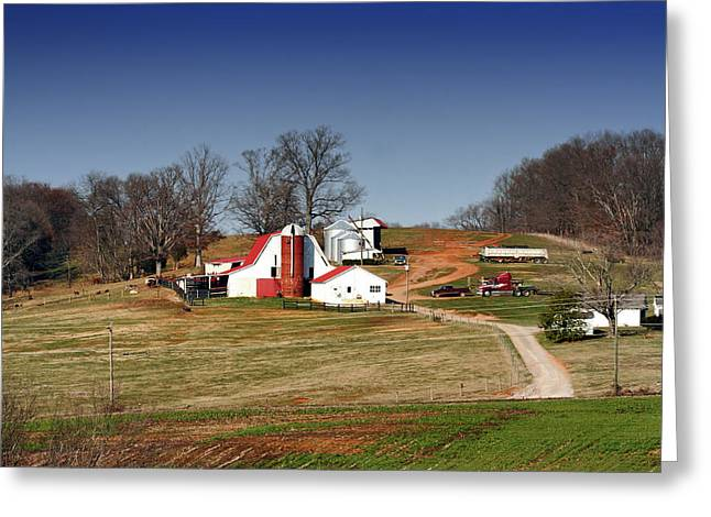 Tennessee Barn Greeting Cards - Home in Tennessee Greeting Card by Mountain Dreams