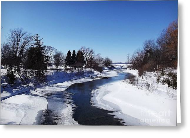 Elk Rapids Greeting Cards - Home Greeting Card by Jess Welch
