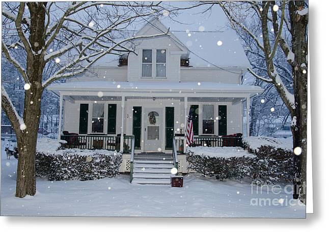 Jim Cook Greeting Cards - Home Greeting Card by Jim Cook