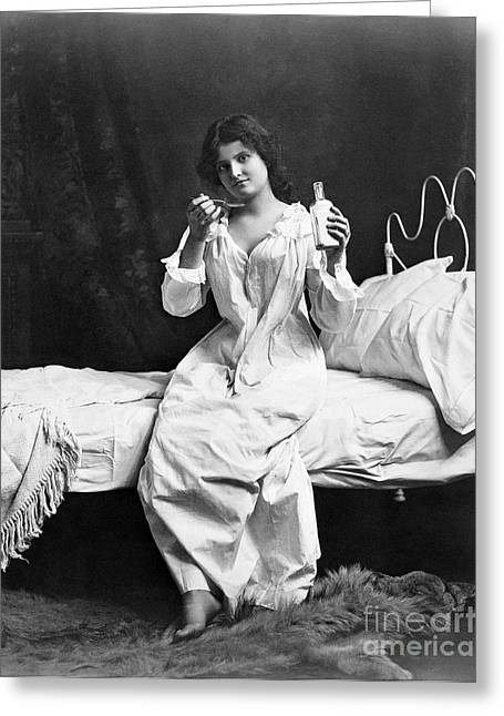 1901 Greeting Cards - Home Medicine, 1901 Greeting Card by Granger