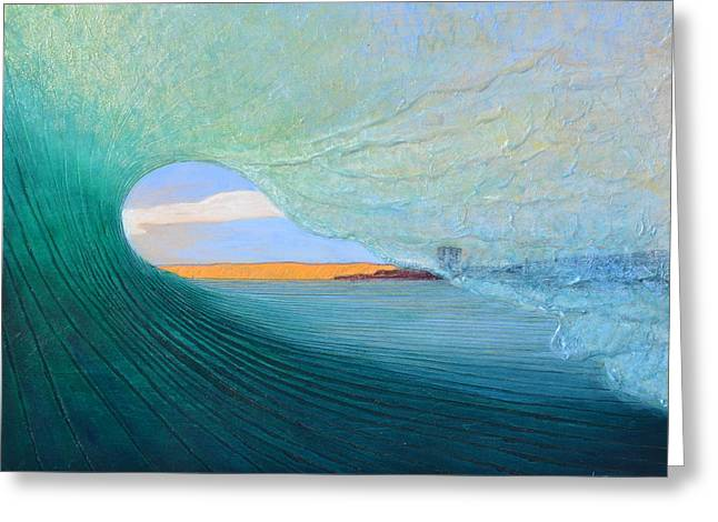 Art Prints Reliefs Greeting Cards - Home Greeting Card by Nathan Ledyard