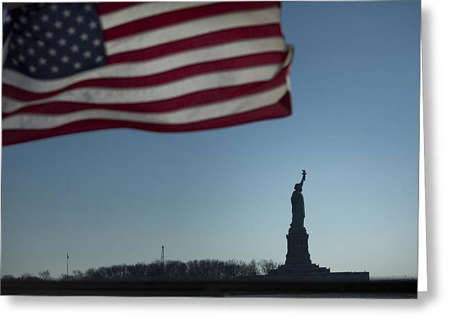 Home of the Brave Greeting Card by Mark Milar