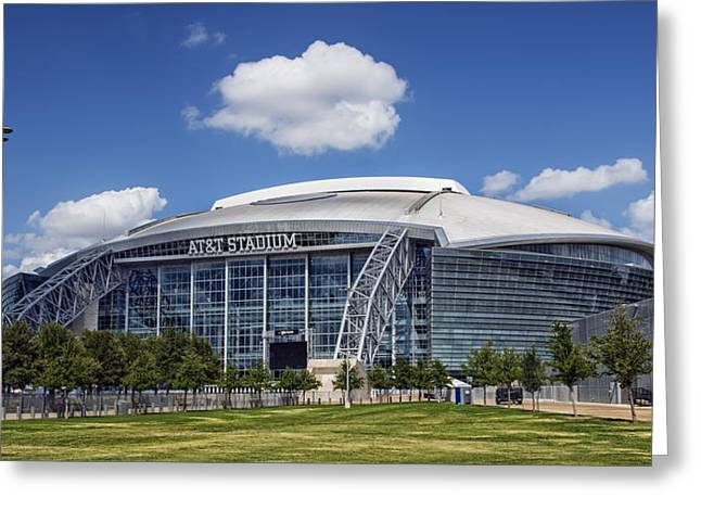 Arlington Greeting Cards - Home of the Dallas Cowboys Greeting Card by Mountain Dreams