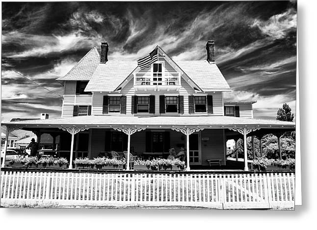 Old Home Place Greeting Cards - Home Shore Home Greeting Card by John Rizzuto
