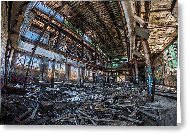 Abandonded Greeting Cards - Home Sweet Home Greeting Card by Randy Scherkenbach