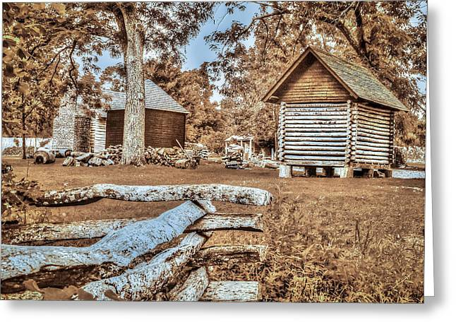 Outbuildings Greeting Cards - Home sweet home Greeting Card by Richard Smith